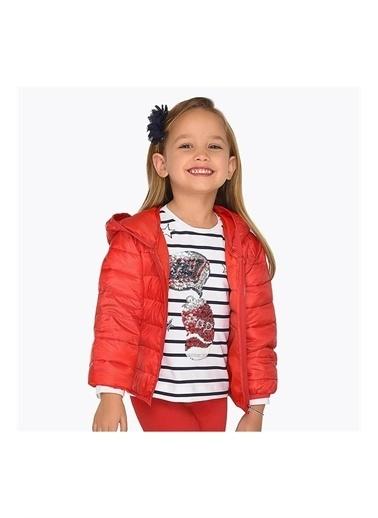 Mayoral Mayoral Yazlık Kız Çocuk Rüzgarlık 3414 Kırmızı